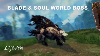 Blade & Soul World Boss Lycan - Campaign Mode