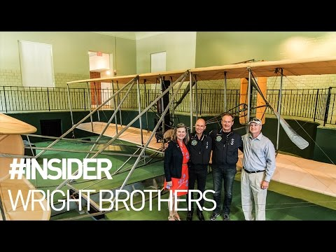 Solar Impulse - Visiting the Wright Brothers Aviation Center in Dayton #INSIDER