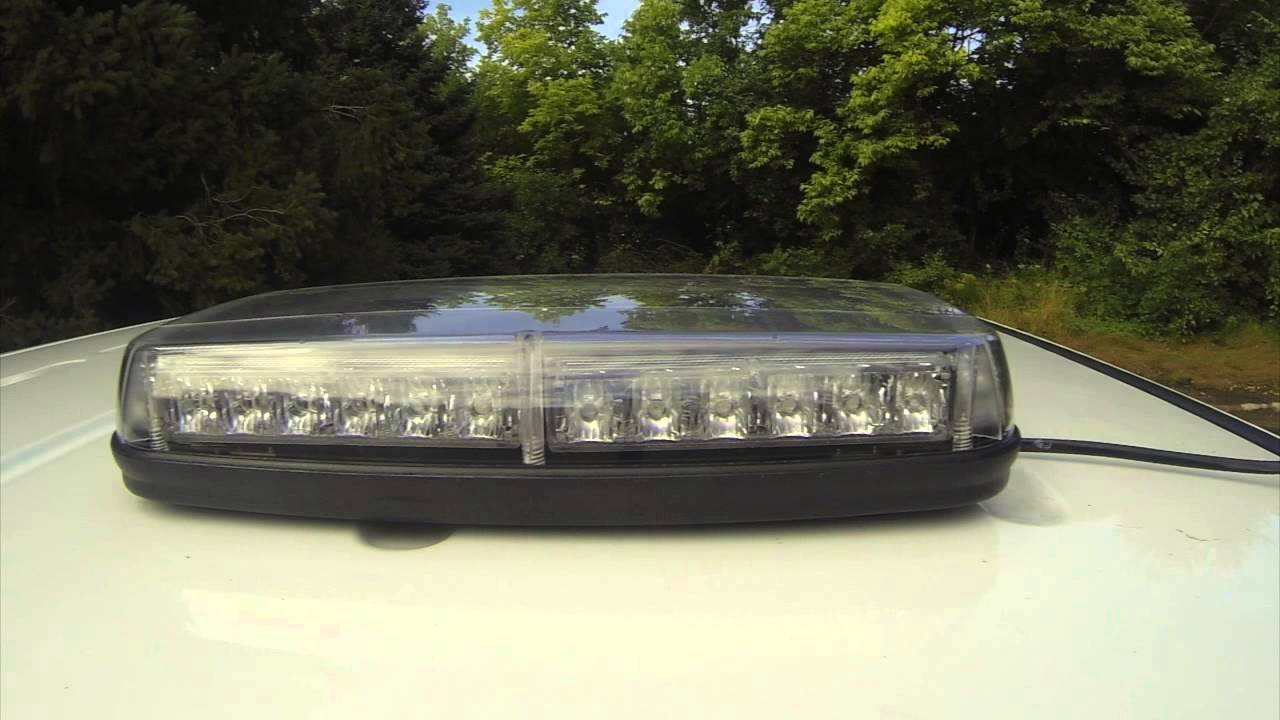 Ultra tow led mini lightbar 36 leds 18 watts 12 volts youtube mozeypictures Image collections