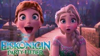 DIE EISKÖNIGIN: PARTY-FIEBER - Der coole Kurzfilm vor CINDERELLA - Bald auch im Handel   Disney HD