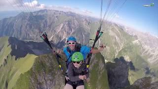 Gambar cover Unser Himmelsritt Flugangebot für Tandemflüge am Nebelhorn