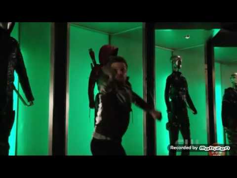 💘Arrow 5x22 Felicity, diggs got kidnapped