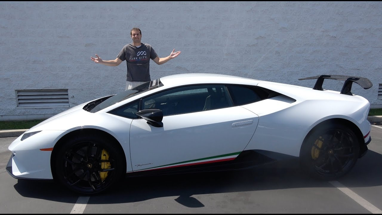 Here's Why the Lamborghini Huracan Performante Is the Best Lambo Ever