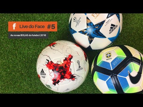 2d2311ddd19b7 As novas Bolas da Adidas e Nike | LIVE do Facebook EP05 - YouTube