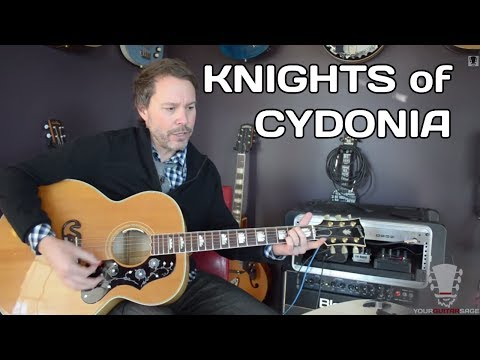 Knights of Cydonia by Muse Acoustic Guitar Lesson