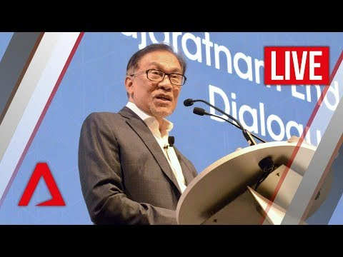 [Live HD] Anwar Ibrahim speaks at Singapore Summit