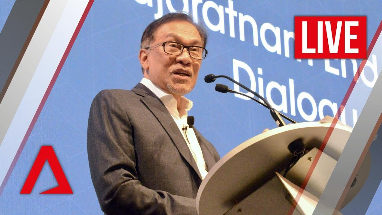 [Live HD] Anwar Ibrahim speaks at Singapore Summit