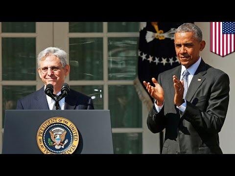 President Obama chooses Merrick Garland for US Supreme Court as 'consensus' candidate - TomoNews