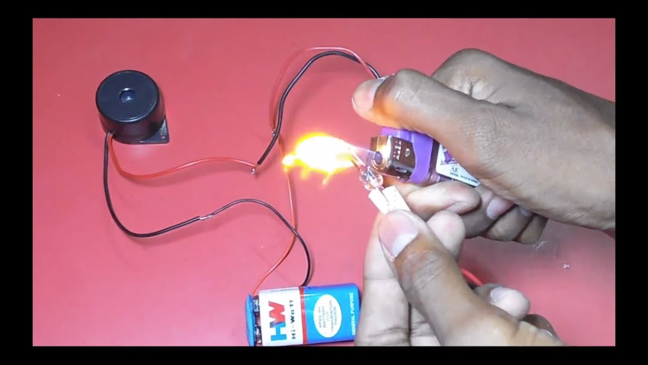 How To Make Fire Alarm Youtube Build A Door Circuit