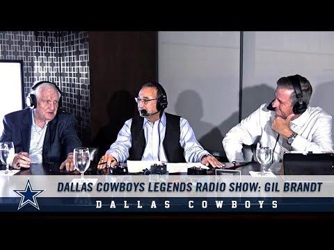 Dallas Cowboys Legends Radio Show: Gil Brandt | Dallas Cowboys 2018