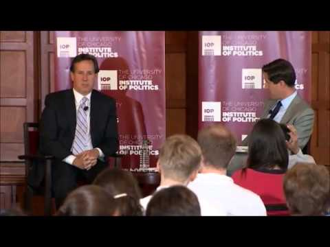 Rick Santorum Answers Three Questions about Running for President in 2016