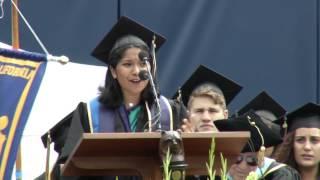 UC Berkeley Medalist Radhika Kannan Speaks at Commencement thumbnail