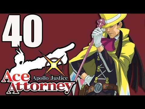 Ace Attorney: Apollo Justice (Blind) -40- The Accident