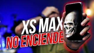 iPhone XS MAX NO ENCIENDE  PROTOCOLO FÁCIL y Solución RAPIDA.