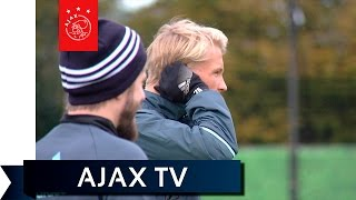 Ajax TV Kick Off - Schöne past op Dolberg in Denemarken