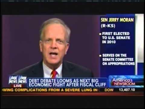 Senator Jerry Moran previews 2013 spending debate on America