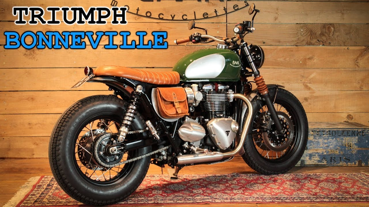 Triumph Bonneville T120 Custom Youtube