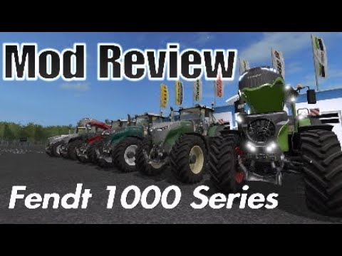 Farming Simulator 17 | Fendt 1000 Series | Mod Review