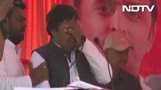 As Akhilesh Yadav Watched, Candidate Was A Crying Mess. No One…