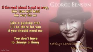 George Benson -  Nothing's Gonna Change My Love For You - Instrumental