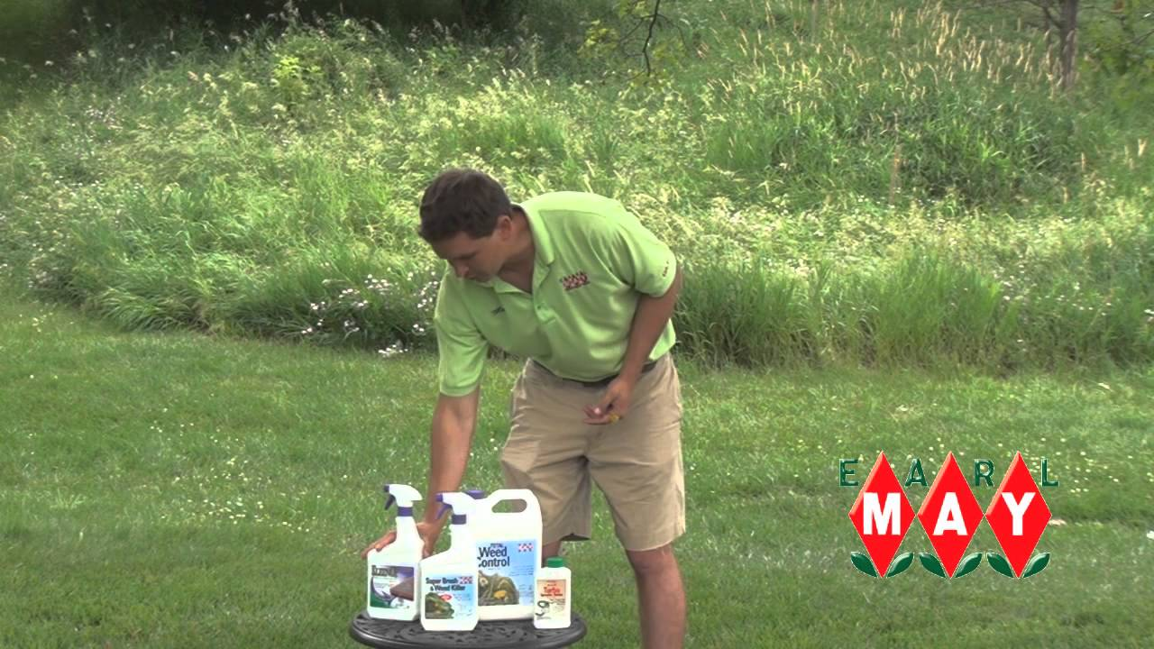 Earl May Garden Center How to Choose a Weed Killer YouTube