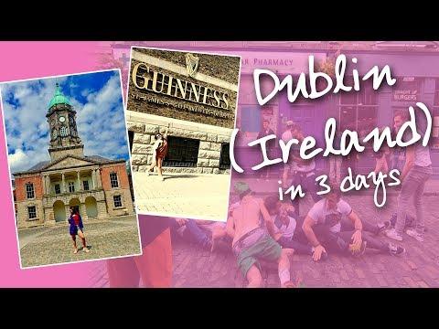 Dublin (Ireland) in 3 Days   Debina Decodes   Travel Ep 08