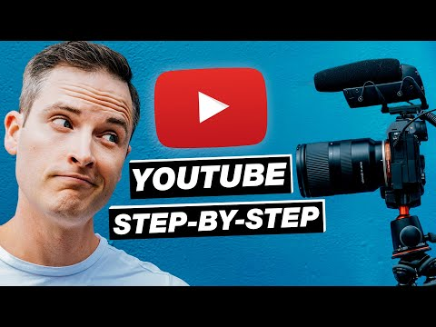 How to Make a YouTube Video (Beginners Tutorial)