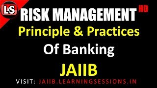 Risk Management Principles and Practices of Banking JAIIB Important Concepts