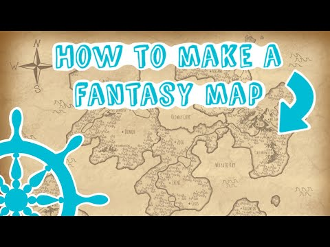 How to MAKE and DESIGN a fantasy world map