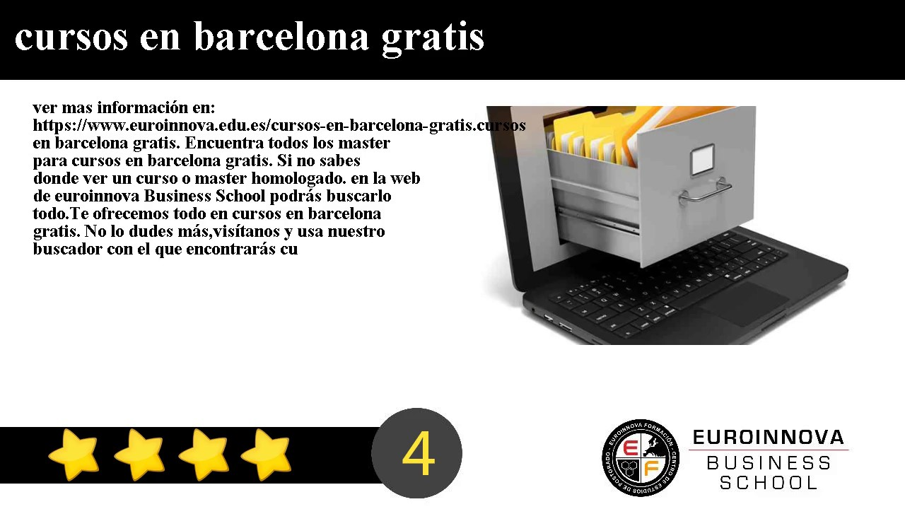 Cursos En Barcelona Gratis
