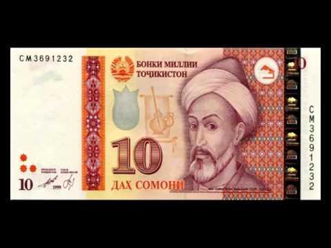 Деньги мира Таджикский сомони
