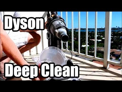 Deep Clean a Dyson Vacuum Cleaner DC33