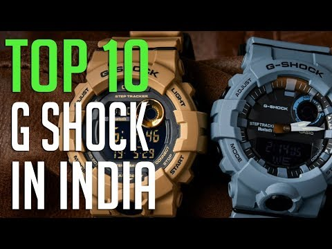 TOP:10 G Shock In India  Best G Shock Watch Under 10000
