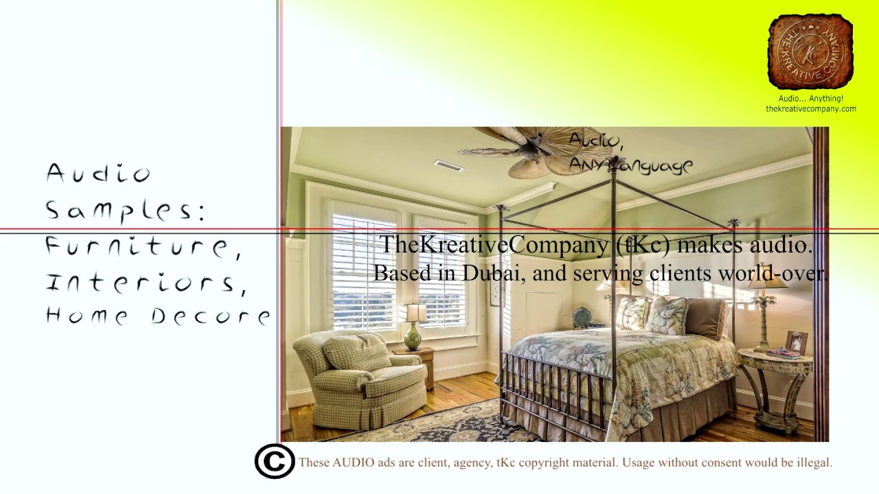 The Kreative Company Furniture Interior Industry Ads Youtube