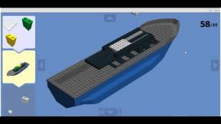 Lego cargo ship