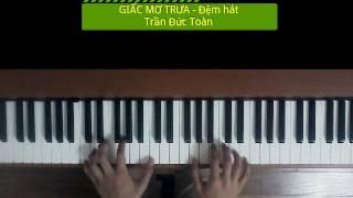 Giấc mơ trưa - Đệm hát (Trần Đức Toàn) Cdur, Tempo 60