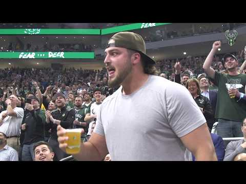 In The Zone - The Best Beer Chuggers in Sports - David Bakhtiari Makes Green Bay Proud