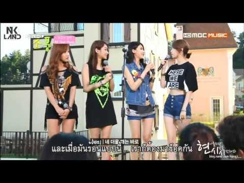 [THAISUB] 130909 Nine Muses - MBC Music Picnic Live PART.2