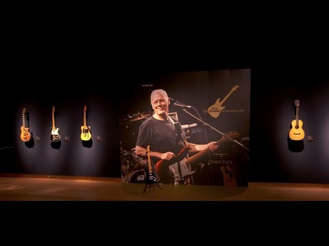 a guided tour of the david gilmour guitar collection youtube. Black Bedroom Furniture Sets. Home Design Ideas