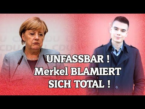 UNFASSBAR! Merkel BLAMIERT SICH TOTAL!