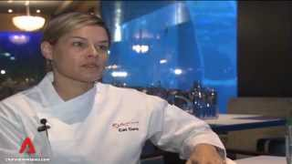 Iron Chef Cat Cora takes on S