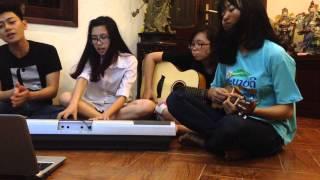 [VOF DaBand] Vì tôi còn sống guitar piano cover - Tiên Tiên