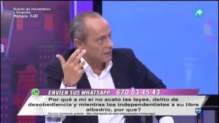 """Eduardo García Serrano: """"A la nación española la han matado en Cataluña con la propaganda"""""""