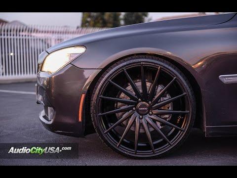 BMW 740 li 2011 On 22 Varro Wheels  YouTube