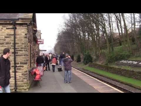 Keighley and Worth Valley Railway - Winter Steam Spectacular 2014 - Ingrow West Station