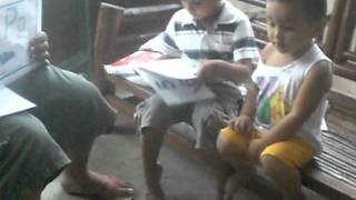 Aizen Learning Alphabet :)