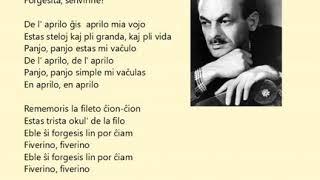 """Bulat Okuĝava – """"mi vaĉulas еn Aprilo"""" ( esperanto kaj gitaro )"""