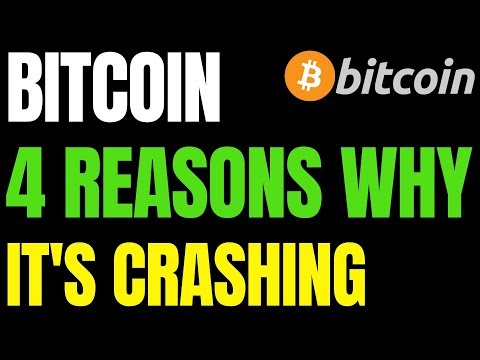 4 REASONS WHY BITCOIN PRICE CONTINUES TO CRASH | BTC $20K - $25K Zone Next Year