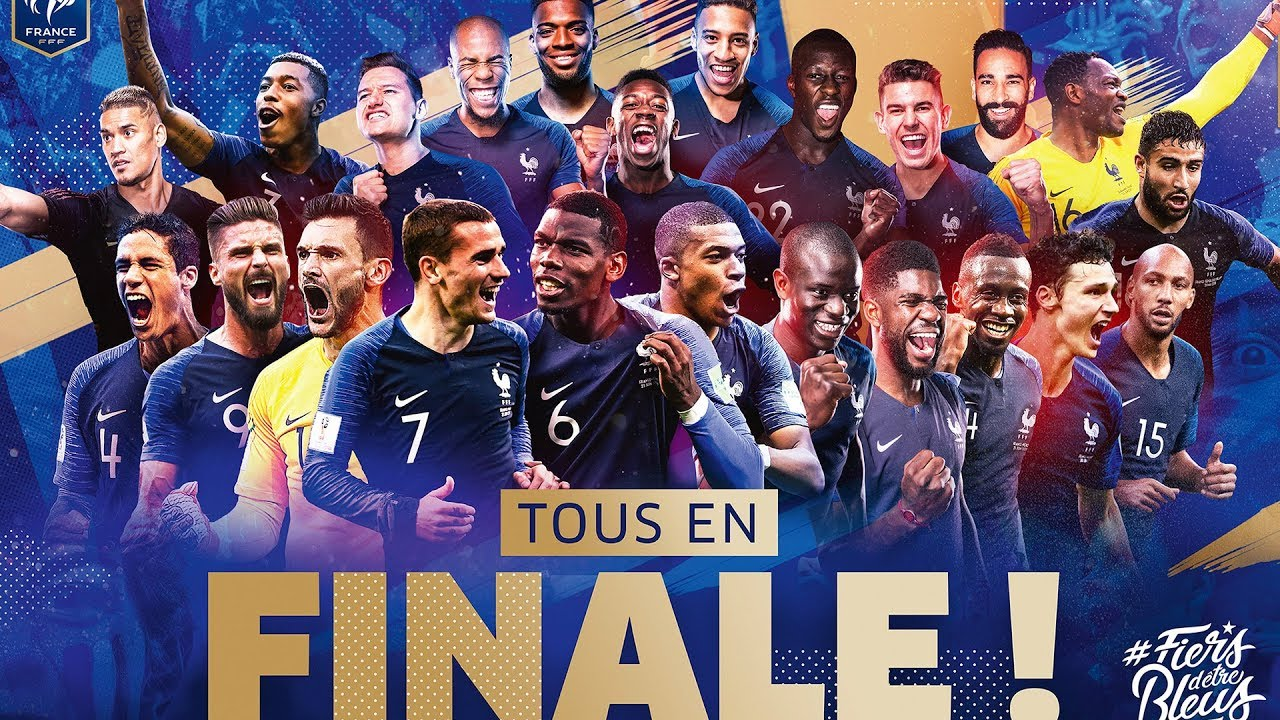 Equipe de France : 23 Bleus pour un rêve français I FFF 2018