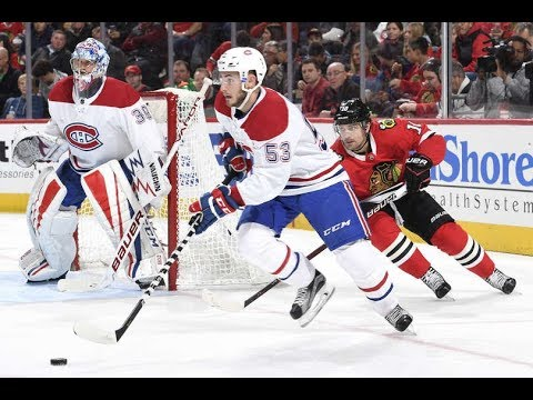 Montreal Canadiens vs Chicago Blackhawks - November 5, 2017 | Game Highlights | NHL 2017/18